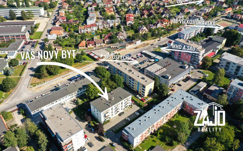 NA PREDAJ | 2 izbový byt s parkovacím miestom – Veľkomoravská