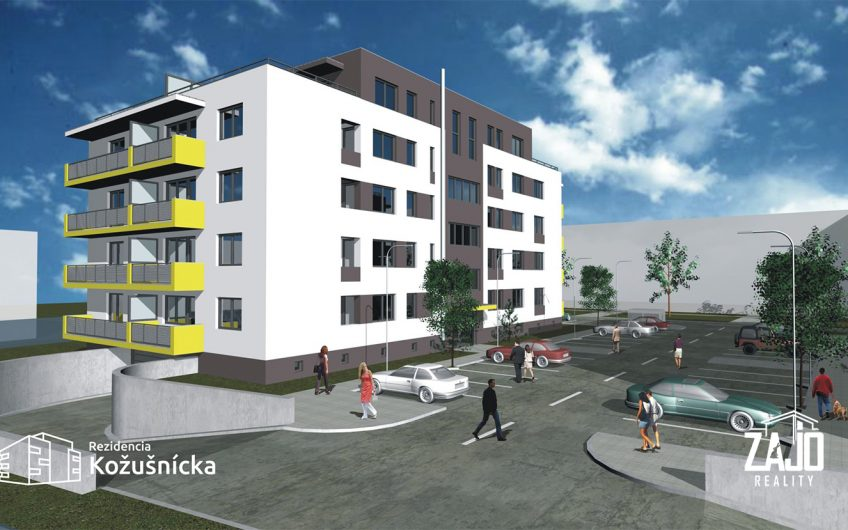 NA PREDAJ | 2 izbový byt 50m2 + balkón Rezidencia Kožušnícka