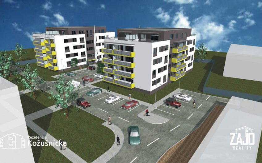 NA PREDAJ | 2 izbový byt 59m2 + veľký balkón – Rezidencia Kožušnícka