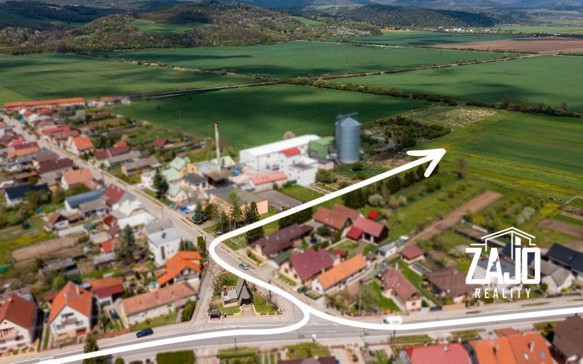 NA PREDAJ | Investičný pozemok 1.500 m2 Borčice /okres Ilava/